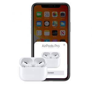 Apple AirPods Pro with Wireless Charging Case 3rd Gen White (MWP22ZM/A)